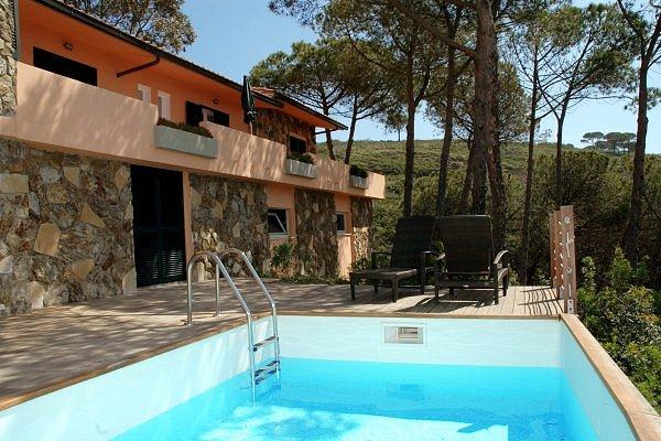 Ferienhaus Capoliveri: Villa Eucalyptus